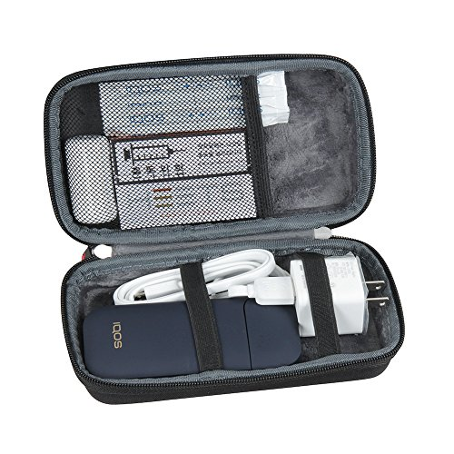 Hard EVA Travel Case for IQOS Electronic Cigarette Kit and Accessories by Hermitshell