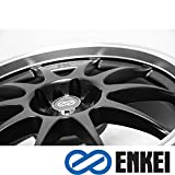 rims for 08 pontiac g5 - ENKEI - j10 - 16 Inch Rim x 7 - (4x100/4x4.5) Offset (42) Wheel Finish - black paint