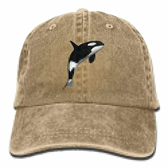 6d4e08edf4a Amazon.com  Baseball Cap Killer Whale - Adjustable Trucker Hat ...