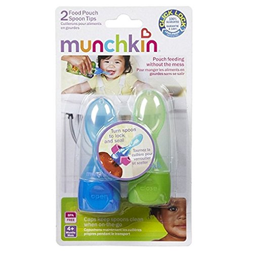Munchkin Click Lock Pouch Spoon