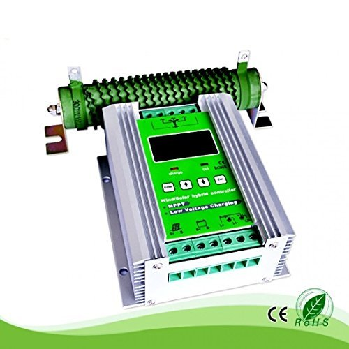 1000W Wind Solar Hybrid Charge Controller ,Off Grid MPPT Wind Turbine Solar Charge Controller Hybrid Controller 600W Wind and 400W Solar Panel 12V/24V Auto Distinguish by anancooler (Image #9)