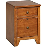 Winners Only Topaz 16 in. 2-Drawer File - Cinnamon