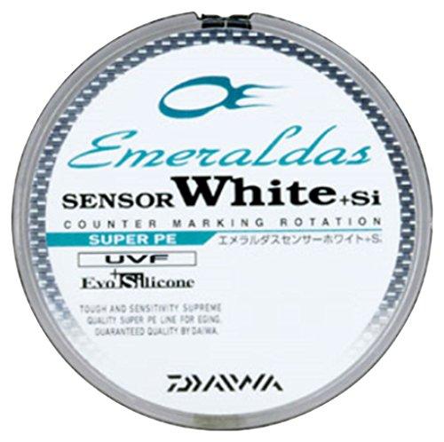 ダイワ(Daiwa) PEライン エメラルダスセンサー ホワイト +Si 150m 0.8号 10lb 7lb ホワイトの商品画像