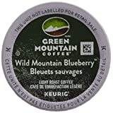 Green Mountain Wild Mountain Blueberry Single Serve Keurig Certified K-Cup pods for Keurig brewers, 24 Count