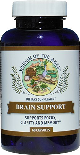 Focus Complex (BRAIN SUPPORT - Natural Complex Formula Supports Focus, Clarity, Memory and Brain Function!)