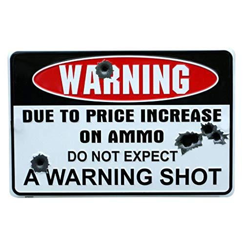 NO TRESPASSING Iron Sign, 12