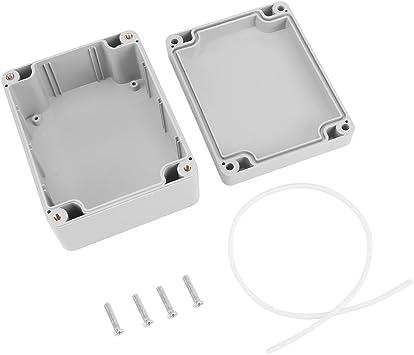 Caja de armario eléctrico IP65, Caja de conexiones eléctrica de plástico ABS, Caja de instrumentos de caja de proyecto exterior (115 * 90 * 55mm): Amazon.es: Bricolaje y herramientas