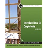 Carpentry Fundamentals Level 1 Trainee Guide in Spanish (4th Edition)