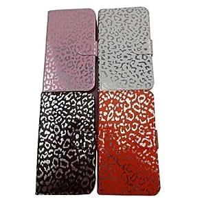 ZCL- Patrón Leopard Hermosa PU funda de piel de cuerpo completo con soporte para Samsung I9220 Nota (colores surtidos) , Café