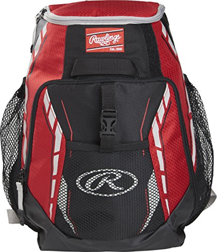 Rawlings R400-S Players Backpack - Scarlet