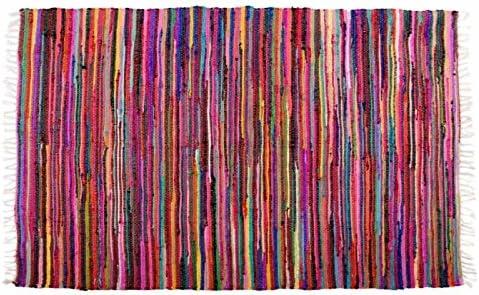 Dcasa - Alfombra multiuso chidi 100% algodon 180 x 120 cm (super oferta): Amazon.es: Hogar