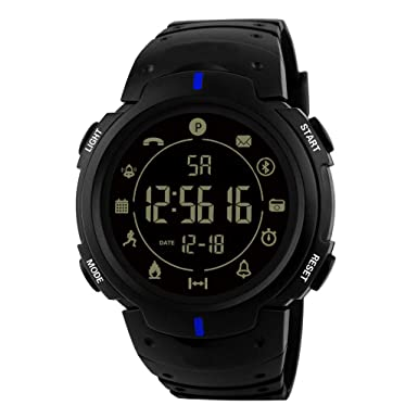 Longra Hombres Relojes Deportivos, Smartwatch Fashion 33 ...