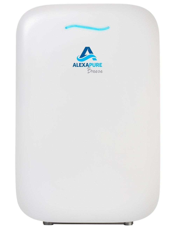 Alexapure 3049 Breeze Energy-Efficient True HEPA + IonCluster Air Purification System – White