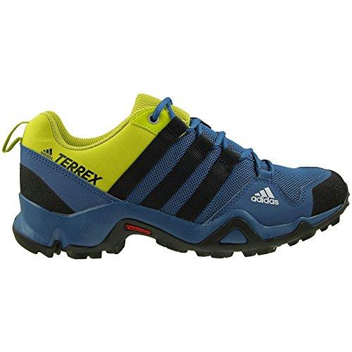 Adidas Terrex AX2R K - BB1936 - Color Green-Navy Blue-Black - Size: 5.5 by adidas