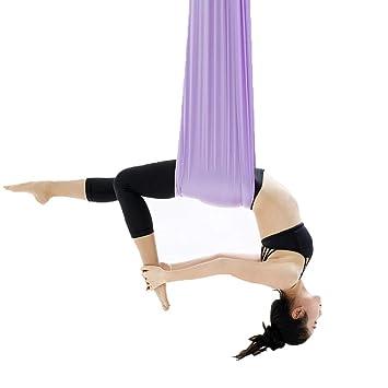 Xuetaimeigu Hamaca de Yoga Columpio de Yoga Anti-Gravedad ...