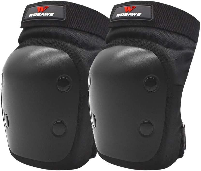 Skating Scooter Bike WOSAWE Adults Protective Gear Sets Adjustable Motorcycle Knee Elbow Pads Elastic Wrist Guard Protector for Rollerblading Knee /& Elbow Pads Racing