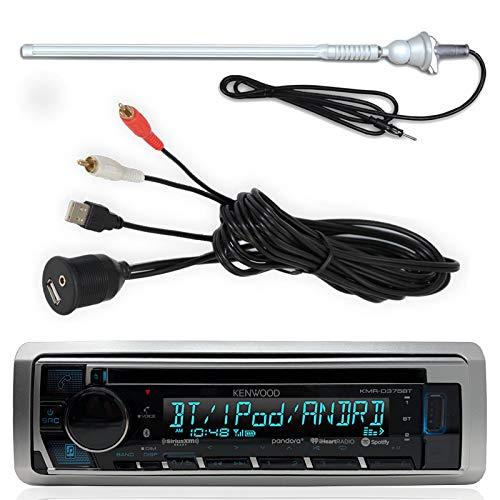 Kenwood KMR-D365BT Marine Yacht CD MP3 Bluetooth Stereo iPod