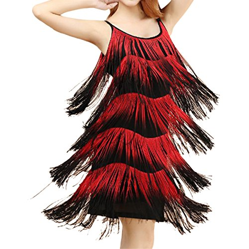 Quesera Womens Flapper Dress Tassel product image