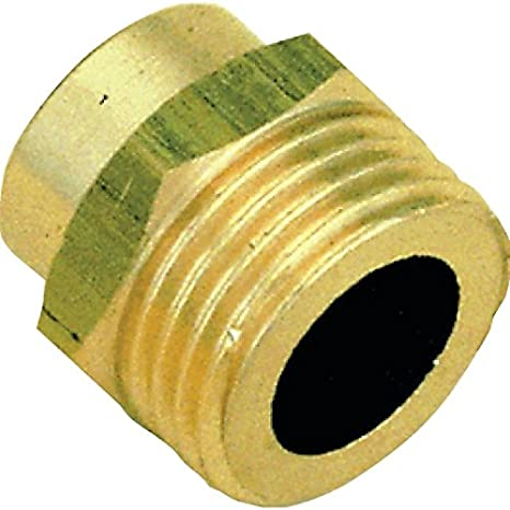 Manguito de latón para soldar - 16 mm a roscas macho (15 x 21 - Bolsita de 10 piezas: Amazon.es: Bricolaje y herramientas