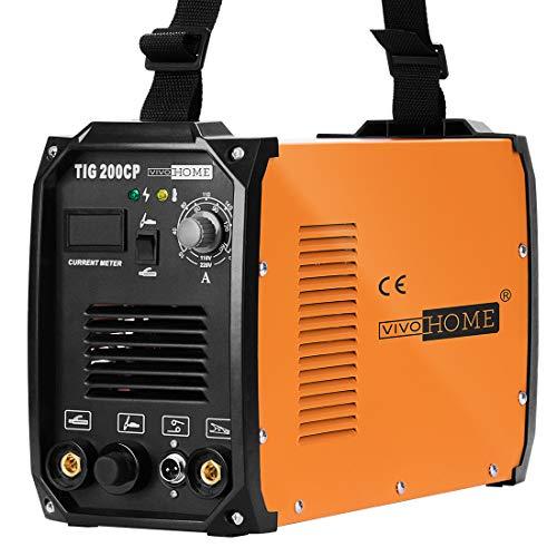 VIVOHOME 2 in 1 Portable TIG STICK/MMA Welding Machine Dual Voltage 110/220V TIG 200CP
