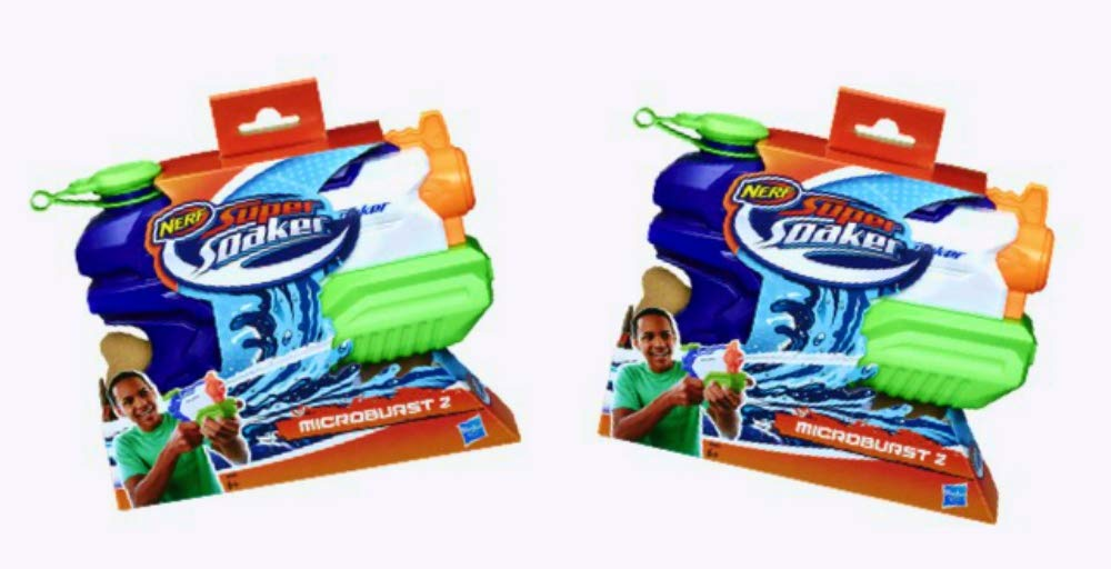 NERF Super Soaker Microburst 2 - 2 Pack Bundle by NERF