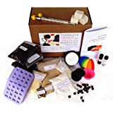 Complete DIY Chocolate and Candy Making Kit - Make Peanut Butter Cups, Truffles, Peppermint Patties, gummy bears, lollipops, truffles, peanut butter cups, coconut mint patties, licorice, marshmallows