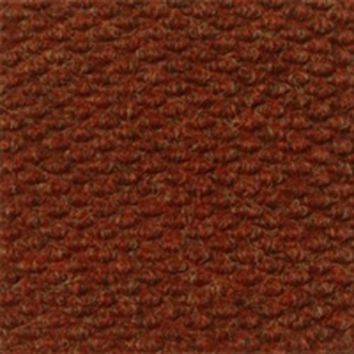 Entrance Runner Water Absorbing Carpet-like Corrugated Surface Mat Slip-Resistant 7/16'' thick for Entrance-ways Hallways Lobbies Hotel Office B014 (3'x12', Autumn Red)