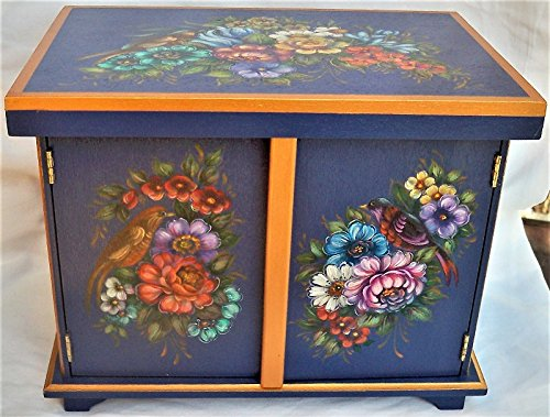 Chippendale Garden Jewelry Chest
