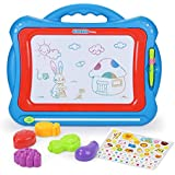 NextX Write and Learn Creative Toy Magnetic Drawing Board, Blue-Red