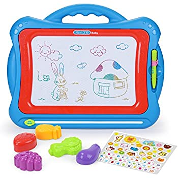 Amazon.com: Magnetic Drawing Board Toy/Doodle Board for