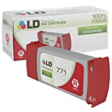 LD Remanufactured Replacement for Hewlett Packard CE038A (HP 771) Red Inkjet Cartridge for use in HP DesignJet Z6200 and Z9000 Printers