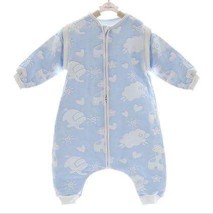 cottonangel – Saco de dormir para bebé Niños Niñas desmontable funda verano saco de dormir invierno