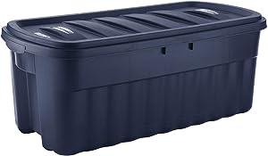 Rubbermaid 50 Gallon Roughneck? Storage Tote Durable, Reusable, Plastic Storage Bin