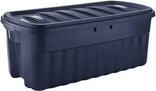 product image for Rubbermaid 50 Gallon Roughneck️ Storage Tote Durable, Reusable, Plastic Storage Bin
