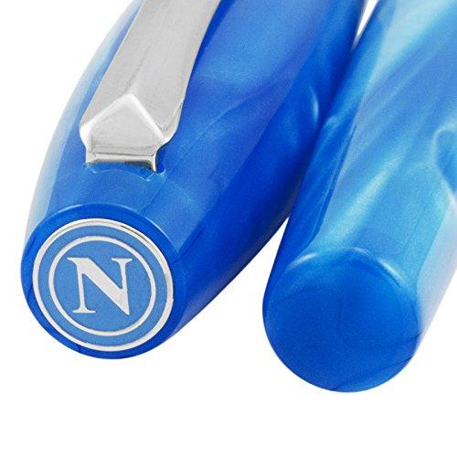 Montegrappa Fortuna Special Edition Società Sportiva Calcio Napoli Blue Rollerball Pen ISFONRPC by Montegrappa (Image #4)