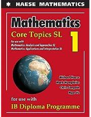 Mathematics: Core Topics SL