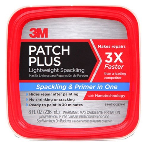 (3M PPP-8-CAP-12 Patch Plus Primer, 8 fl. oz 1 tub)
