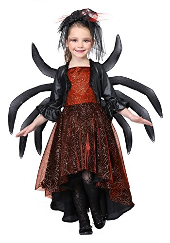 Girl's Spooky Widow Dress Costume ()
