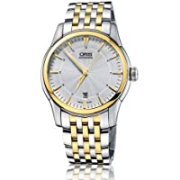 Oris Artelier Silver Dial Two-Tone Stainless Steel Men's Watch