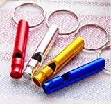 MIJORA-2pcs Compass Emergency Camping Fashion Survival Whistle Hiking Outdoor Kit Tool