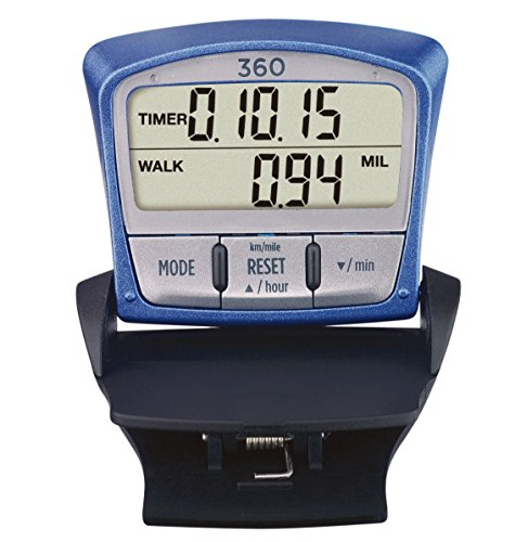 Sportline Walking Advantage 360 Fitness Pedometer (Pedometer Walking Advantage Sportline)