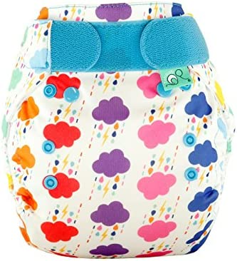 9 to 35lbs TotsBots PeeNut Doodlebum Reusable Washable Waterproof Wrap Size 2 for use with Bamboozle Nappies Tots Bots Limited PeeNut Wrap DOODLEBUM