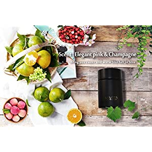 LALATA Coconut Mango Amber Scented Oil Diffuser Set,Essential Oil Reed Diffuser, Aromatherapy Gift Set for Stress Relief Long Lasting Natural Essential Oil,Premium Reeds,Gift for Mother and Friends