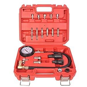 1000psi 70bar Cylinder Pressure Meter Car Diesel Engine Compression Tester Kit