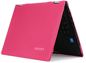 "iPearl mCover Hard Shell Case for New 14"" Lenovo Ideapad Flex 6 14 (6-14IKB or 6-14ARR, NOT Compatible with Older Flex 4-14/5-1470 Series) Laptop Computers (FLEX6-14 Pink)"