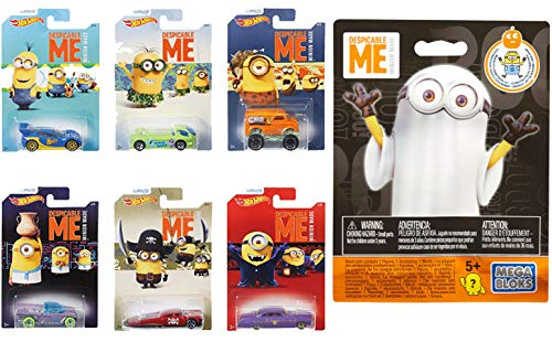 Mini Hot Wheels Animated Exclusive Despicable Me Movie