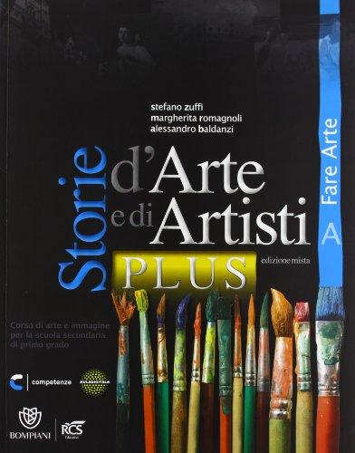 Storie darte e di artisti plus. Vol. A-B. Con Quaderno-Album. Per la Scuola media. Con e-book. Con espansione online Stefano Zuffi