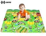 BBCare Soft Baby Play Mat - Happy Farm/ABC (130 x 230 CM)