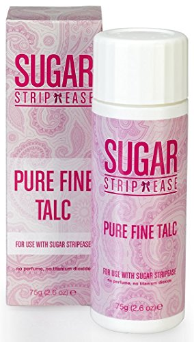 Sugar Strip Ease Pure Fine Talc, Waxing Puder - 75 g, 1er Pack