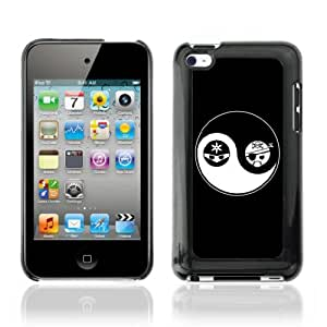 CQ Tech Phone Accessory: Carcasa Trasera Rigida Aluminio Para Apple iPod Touch 4 - Yin & Yang
